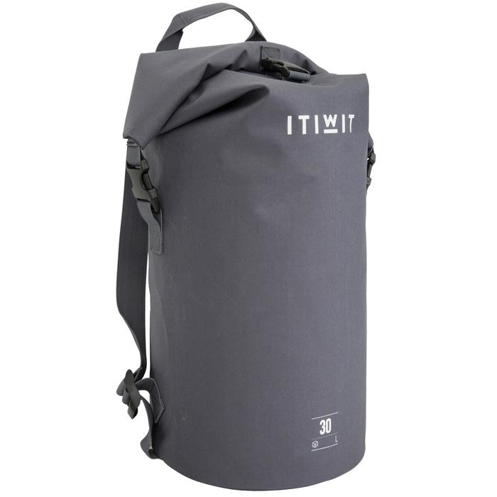 Waterproof Dry Bag 30L - Grey