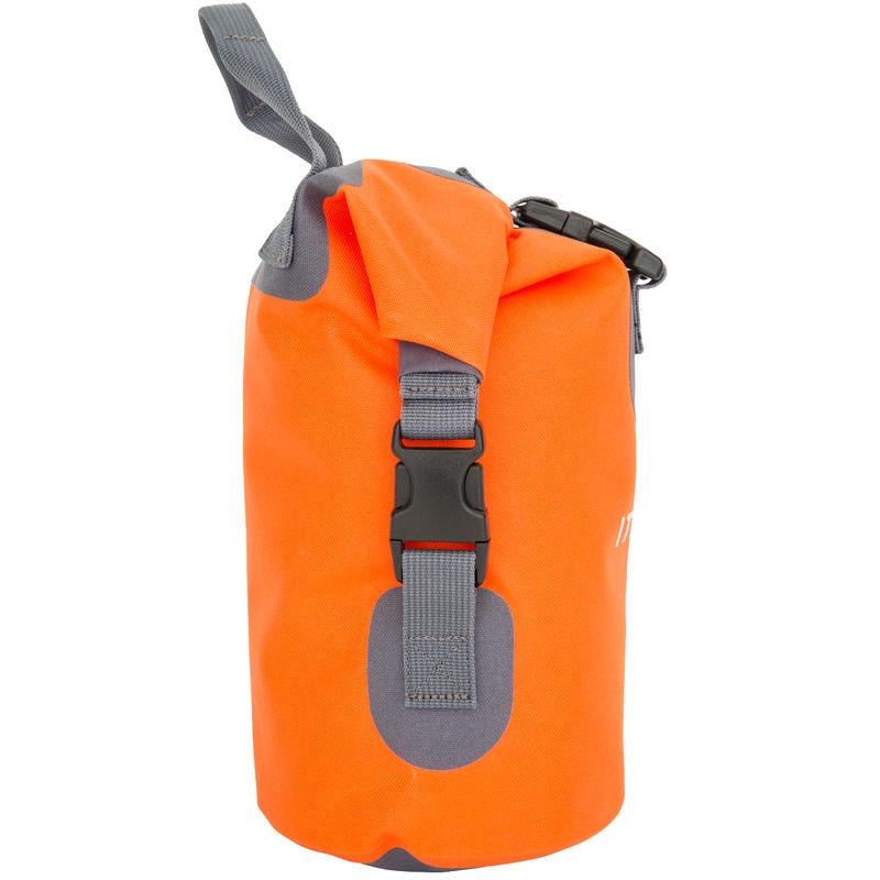 5L WATERTIGHT DUFFEL BAG WITHOUT A SHOULDER STRAP - ORANGE