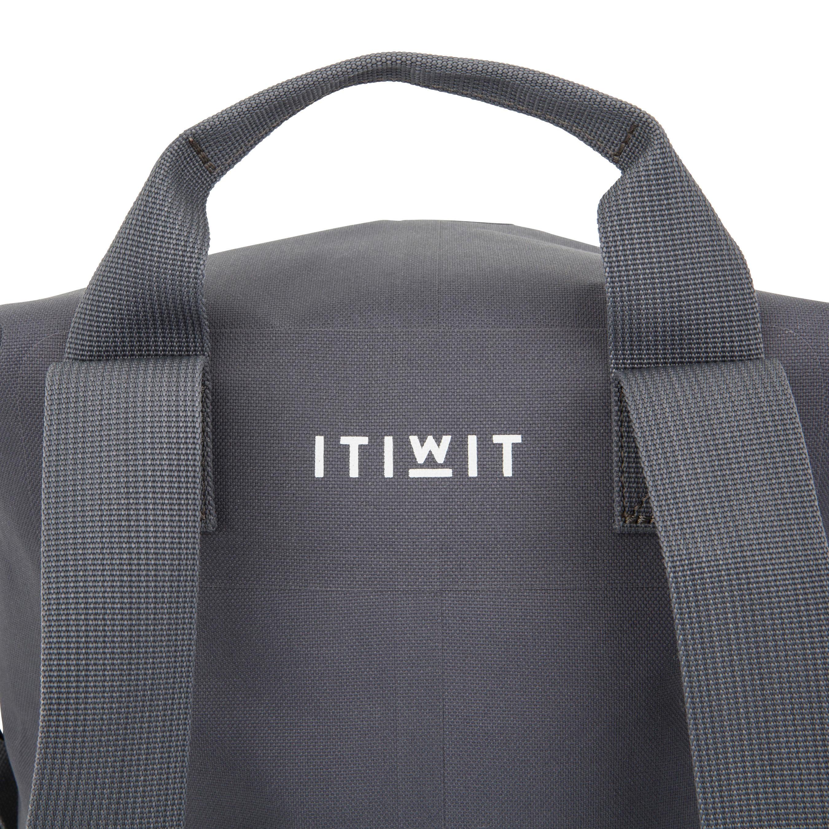 30L Watertight Duffel Bag Grey