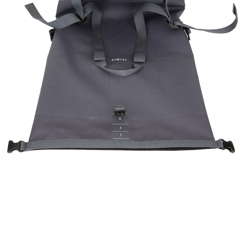 60L Watertight Duffel Bag - Grey