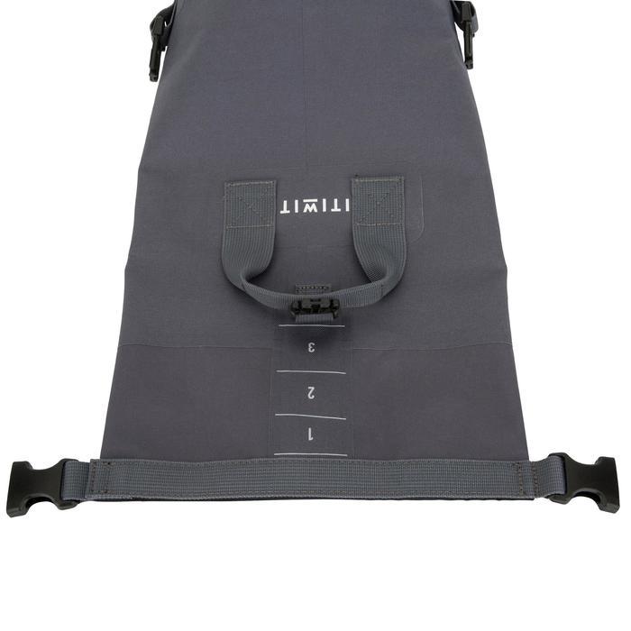 Wasserfeste Tasche 10L grau