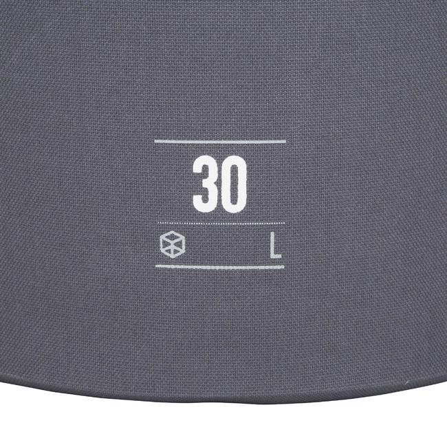 WATERPROOF DRY BAG 30L - GREY