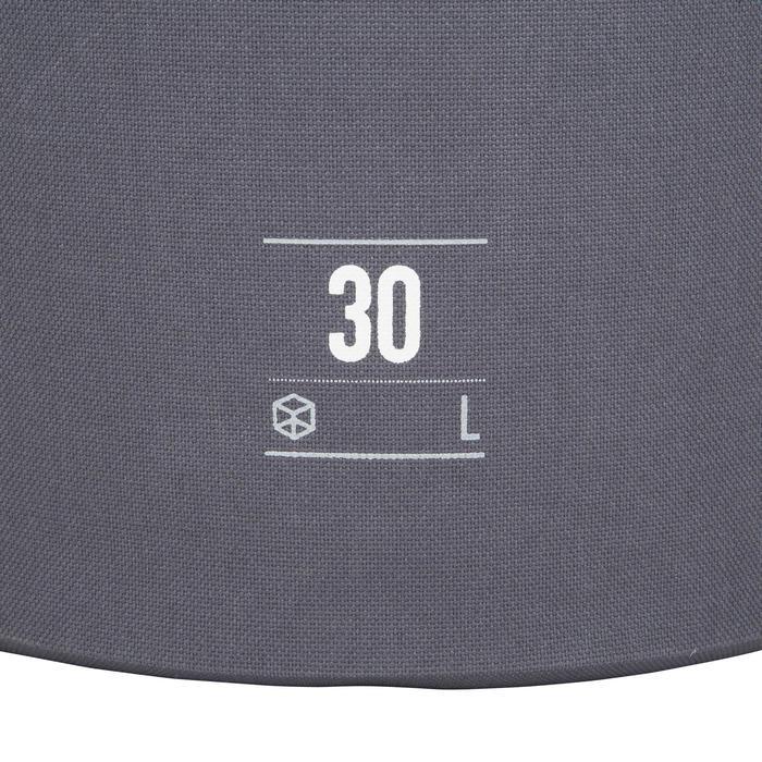 Waterdichte duffle bag 30 l grijs