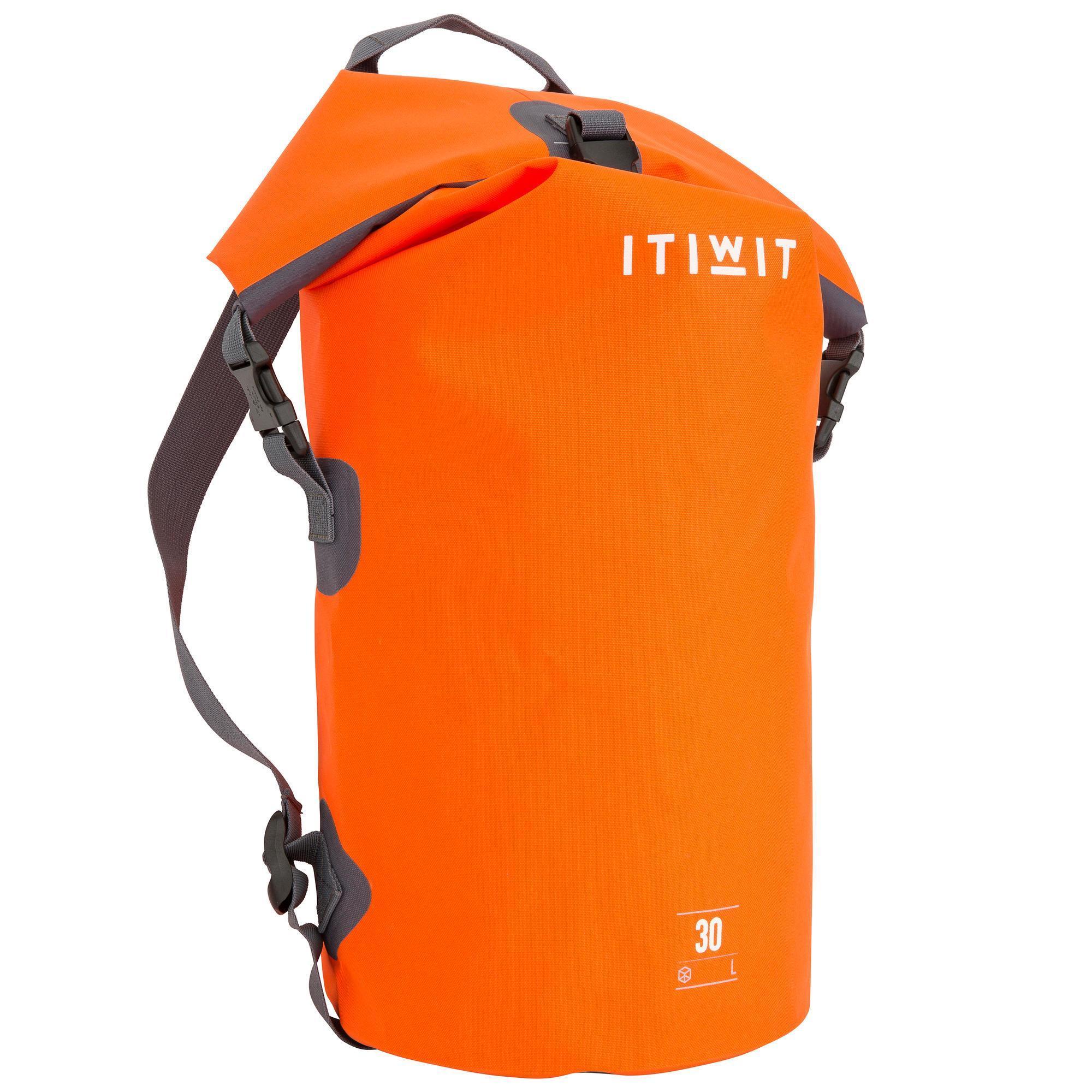 8aa08b5dab4 Itiwit Waterdichte duffel bag 30 l oranje 2018 | Decathlon