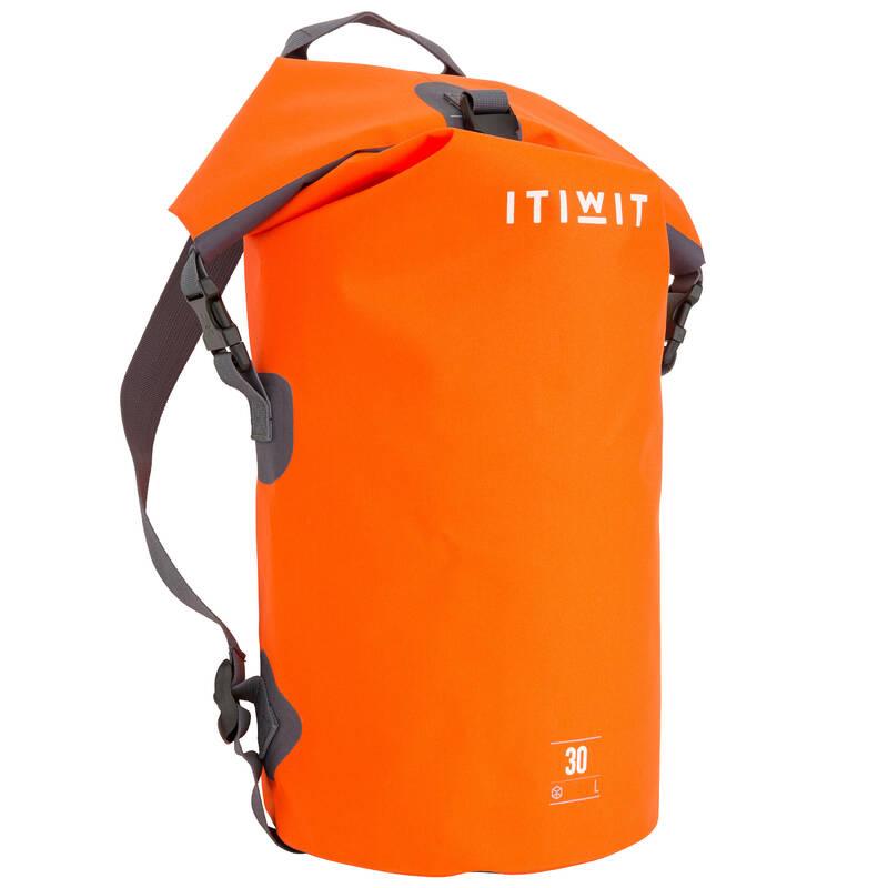 VODOTĚSNÉ TAŠKY A VAKY Vodáctví - VODOTĚSNÝ VAK 30 L ITIWIT - Vybavení na vodu