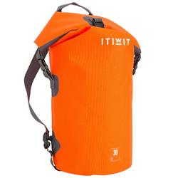 30L WATERTIGHT DUFFEL BAG ORANGE