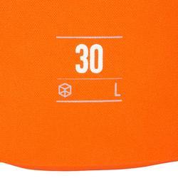 Waterdichte plunjezak 30 l oranje