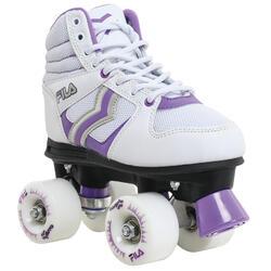 Rolschaatsen voor dames Verve wit/paars