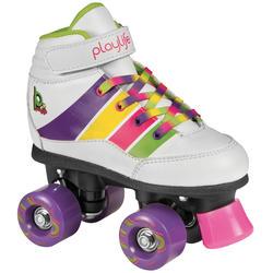Fitness rolschaatsen voor kinderen Playlife Groove wit