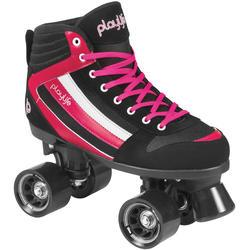 Fitness rolschaatsen Playlife Groove zwart/roze