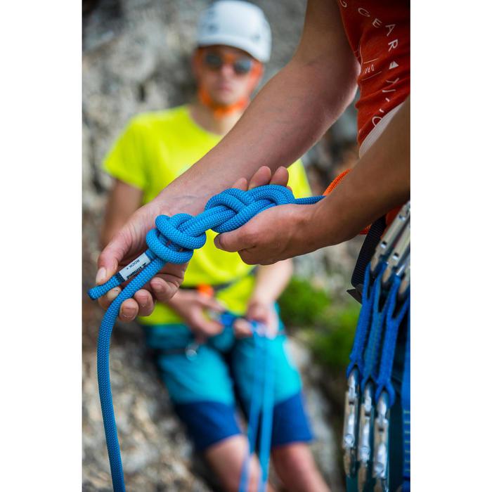 Corde d'escalade ROCK+ 10mm x 80m Bleu - 1151111