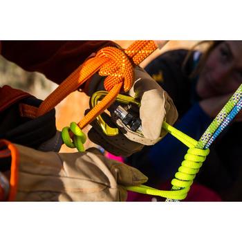 Sling voor zelfblokkerende knoop Prusik loop 60 cm geel
