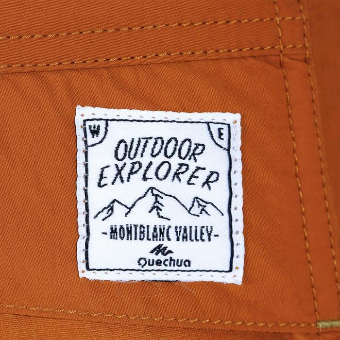 Pantalon de randonnée enfant Hike 500 rouge