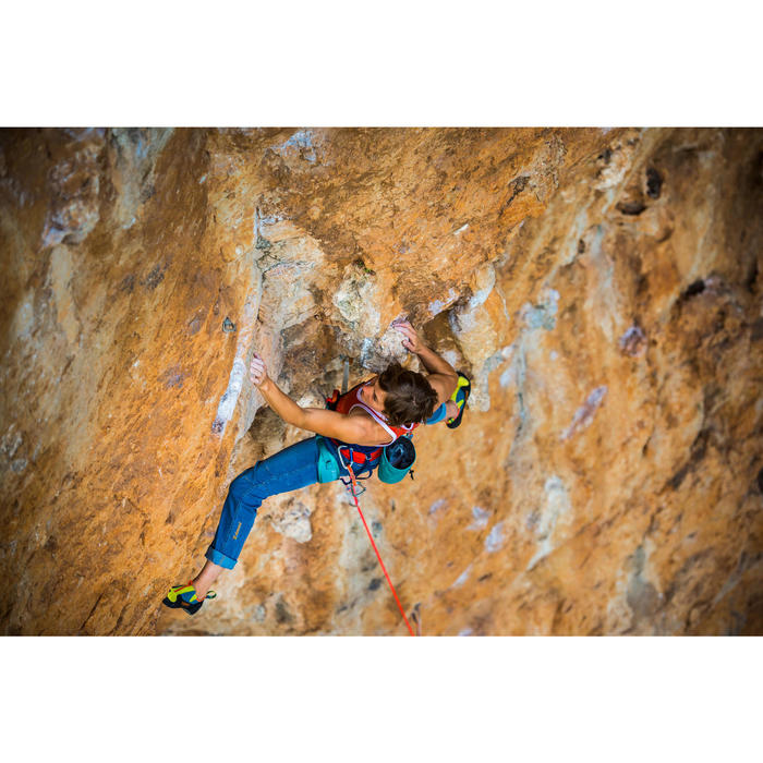 Magnesiumzak voor klimmen maat XL Diamond Caribisch blauw