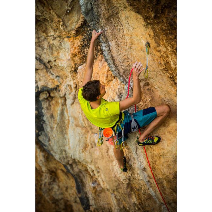 Klettershorts Komfort Cliff Herren türkis