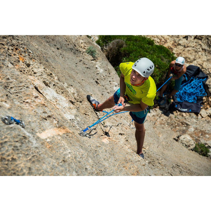 攀岩繩 10 mm x 70 m-ROCK+藍色