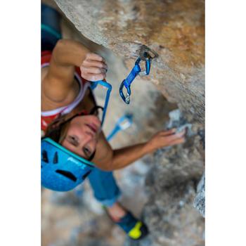 Klimsetje voor klimsport en alpinisme Rocky blauw 11 cm