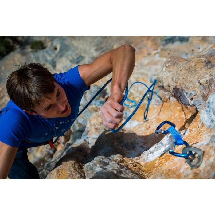 Corde d'escalade ROCK+ 10mm x 70m Bleu