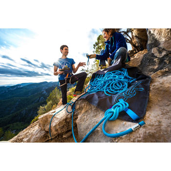Corde d'escalade ROCK+ 10mm x 80m Bleu - 1151192