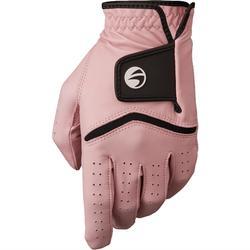 Guante de golf mujer 500 avanzada y experta diestra rosa