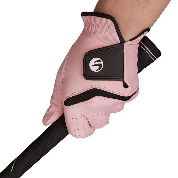 Golfhandschoen 500 voor dames, gevorderde en ervaren speelsters, rechtsh. roze