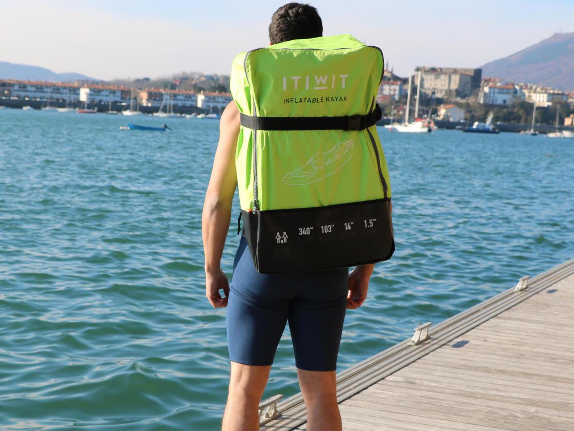 transport inflatable kayak