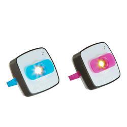 Verlichtingsset voor kamperen Clic 60 lumen blauw/roze - 115140