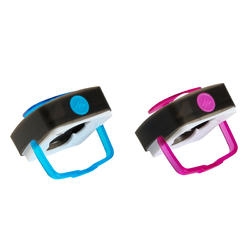 Verlichtingsset voor kamperen Clic 60 lumen blauw/roze - 115142