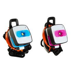 Verlichtingsset voor kamperen Clic 60 lumen blauw/roze - 115147