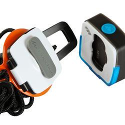 Verlichtingsset voor kamperen Clic 60 lumen blauw/roze - 115148