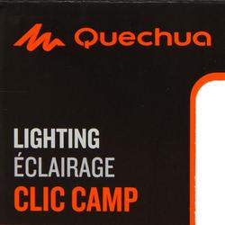 Verlichtingsset voor kamperen Clic 60 lumen blauw/roze - 115156