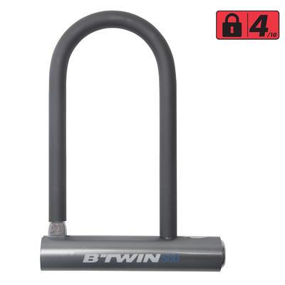 מנעול D-Lock 500 לאופניים - אפור
