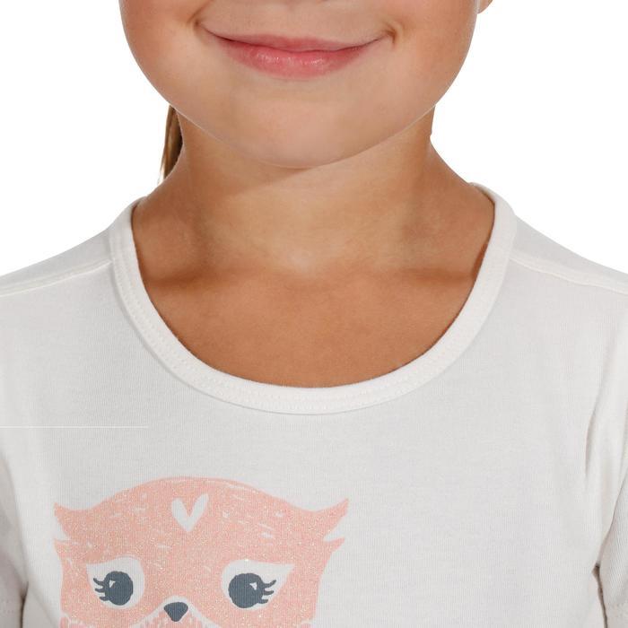 T-Shirt de randonnée enfant fille Hike 500 hibou - 1151767