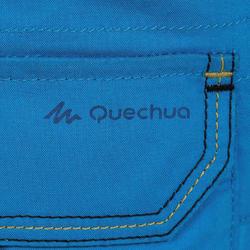 Short de randonnée enfant MH500 bleu 2-6 ANS