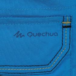 Pantalón Corto de Montaña y Trekking Niños 2-6 años MH500 Azul