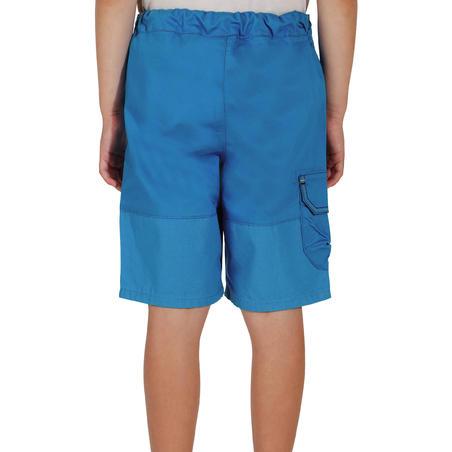 Short de randonnée MH500 bleu - Enfants