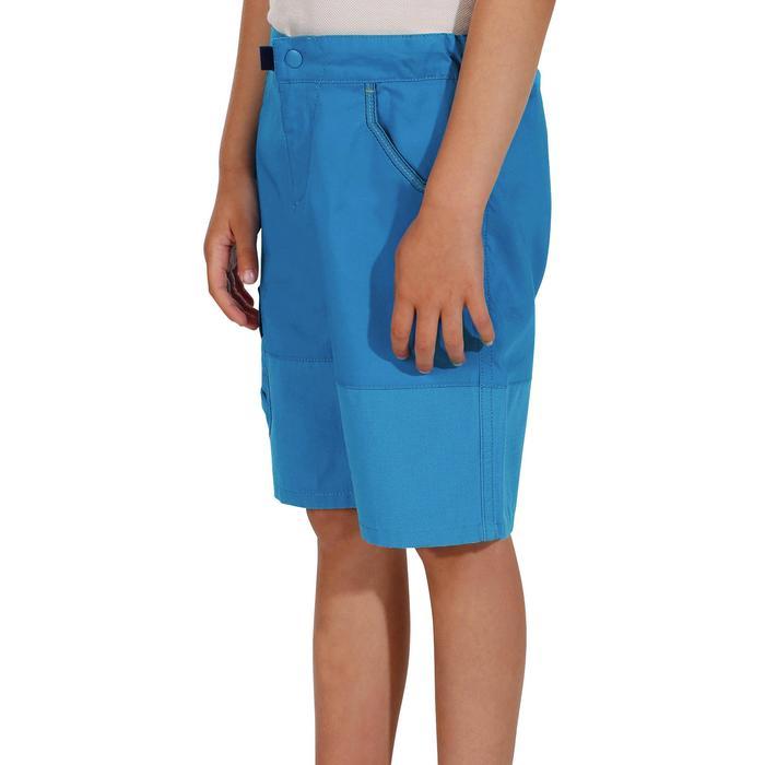 Short Randonnée enfant Hike 500 bleu