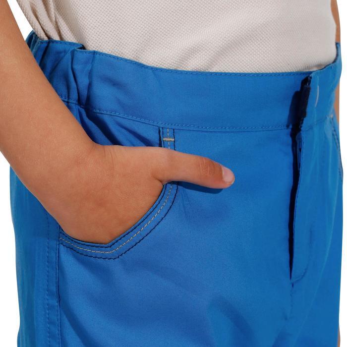 Children's hiking shorts MH500 KID - Blue