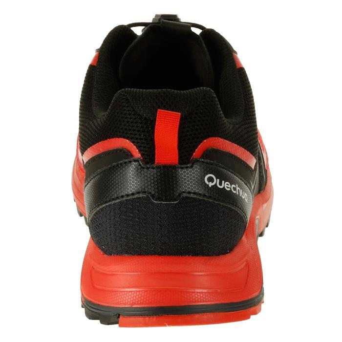 Zapatillas de travesía rápida hombre Forclaz 500 Helium rojo