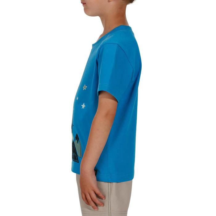 Hike 500 Children's Boy's Hiking T-Shirt – Blue - 1152065