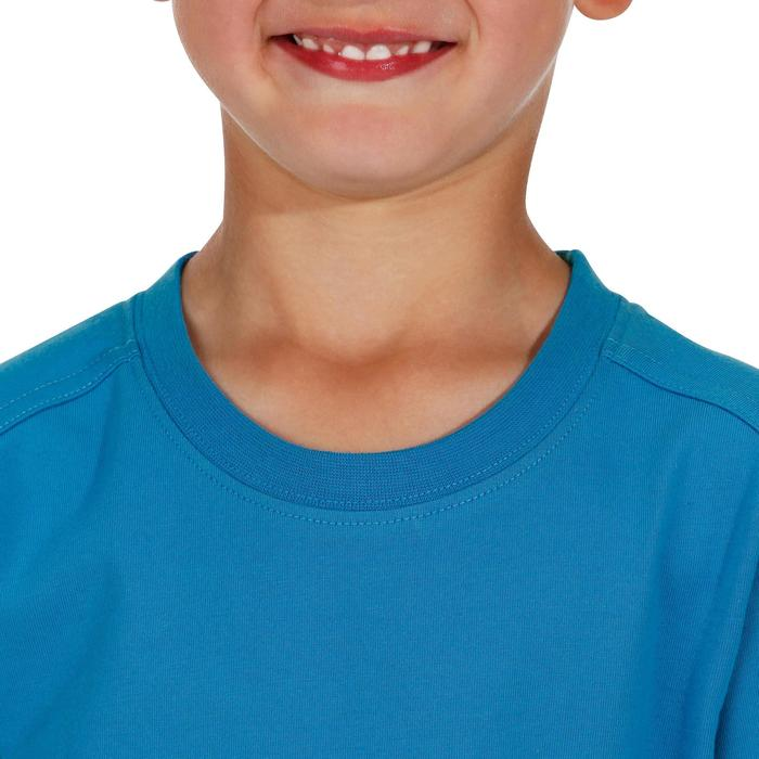 Hike 500 Children's Boy's Hiking T-Shirt – Blue