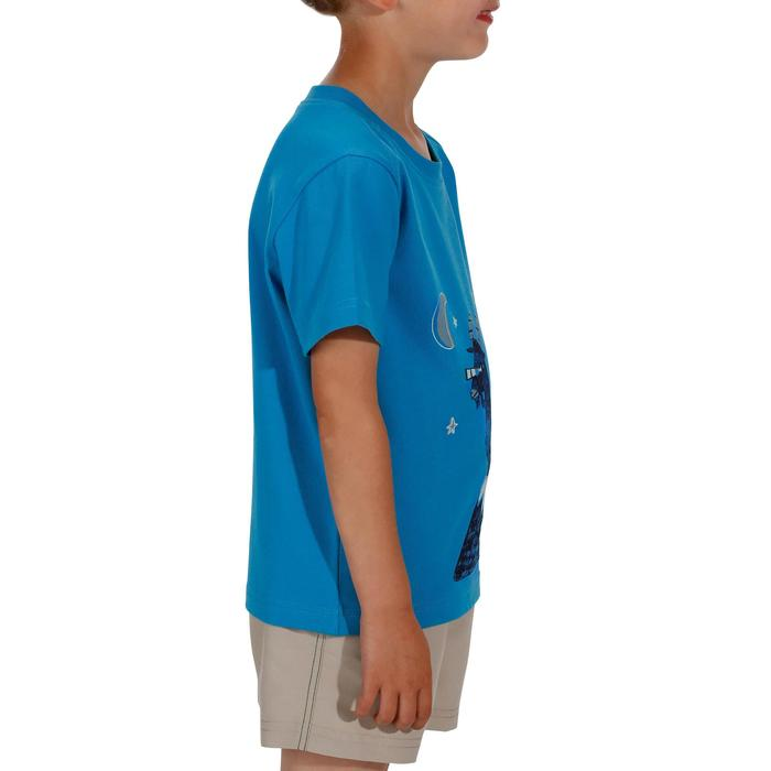 Hike 500 Children's Boy's Hiking T-Shirt – Blue - 1152067