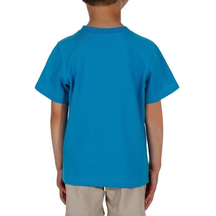 Hike 500 Children's Boy's Hiking T-Shirt – Blue - 1152073