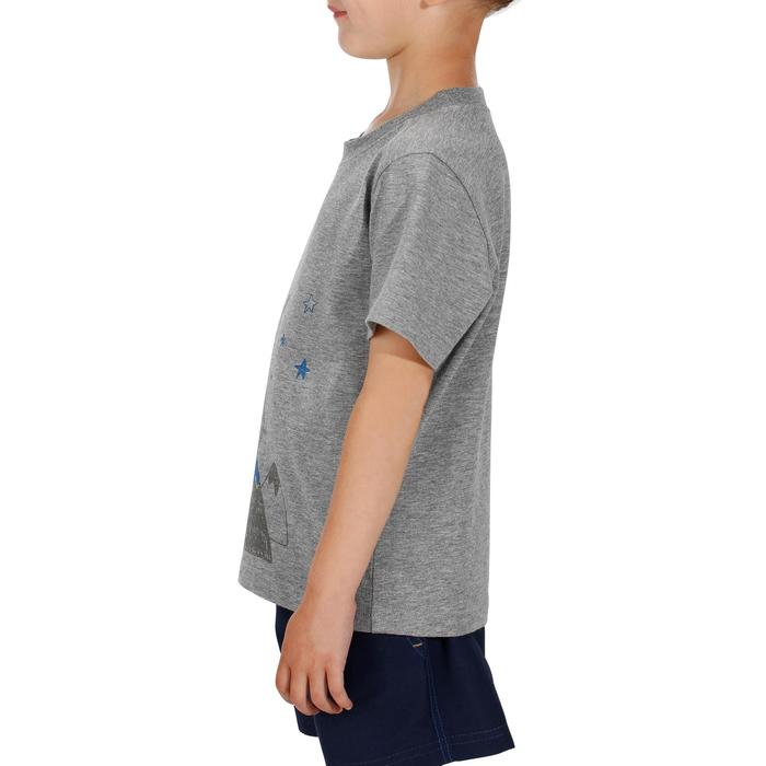 Boys' Hike 500 hiking T-shirt grey