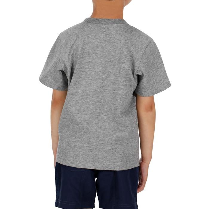 Hike 500 Children's Boy's Hiking T-Shirt – Blue - 1152081