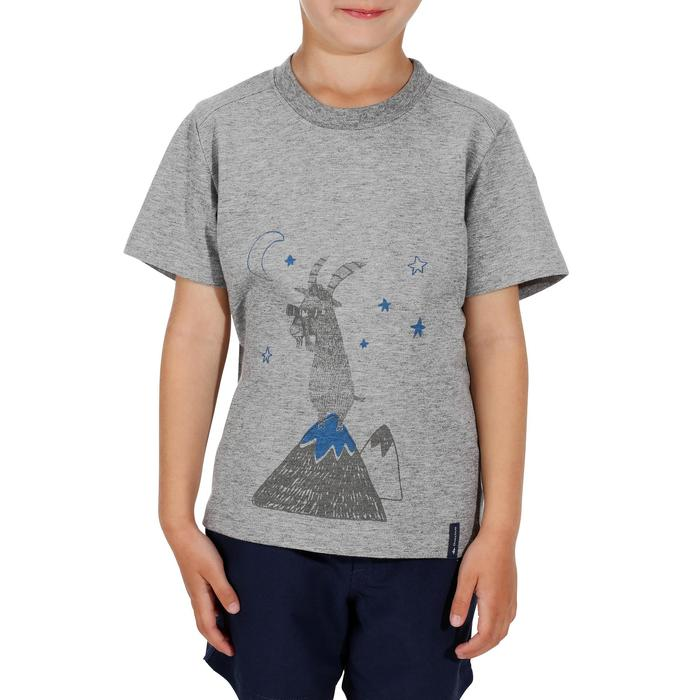Hike 500 Children's Boy's Hiking T-Shirt – Blue - 1152082