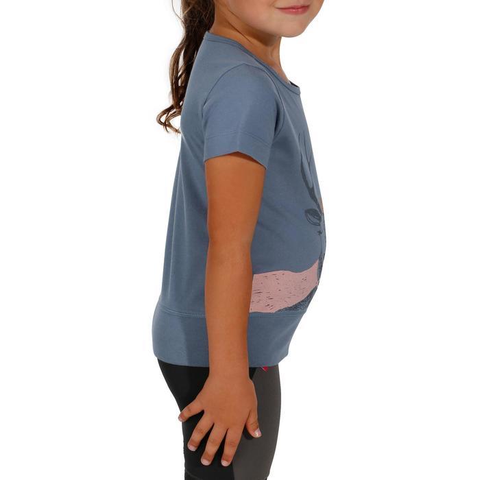 T-Shirt de randonnée enfant fille Hike 500 hibou - 1152100