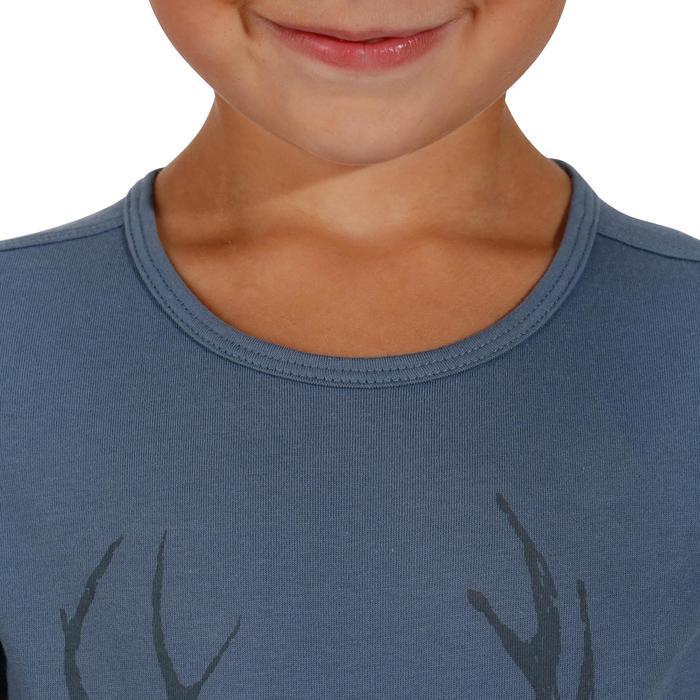 T-Shirt de randonnée enfant fille Hike 500 hibou - 1152104