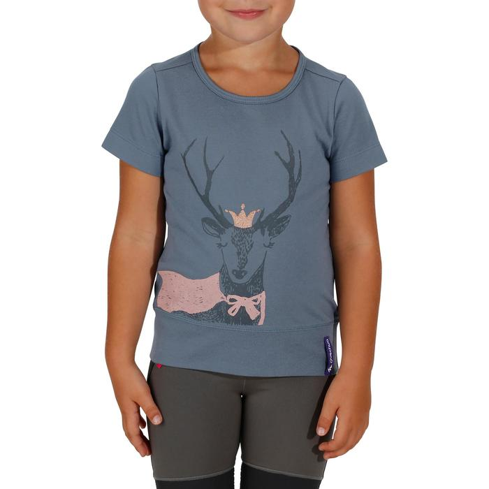 T-Shirt de randonnée enfant fille Hike 500 hibou - 1152106