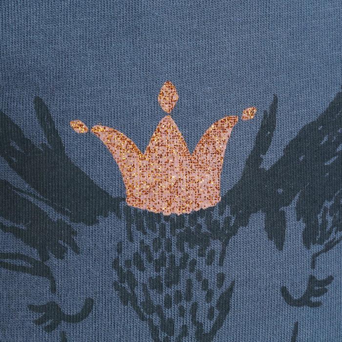 T-Shirt de randonnée enfant fille Hike 500 hibou - 1152108